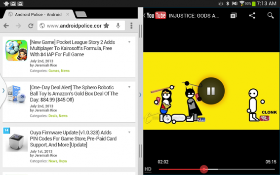 Youtube per Android presto supporterà un'interfaccia multitasking (e forse l'audio in background)