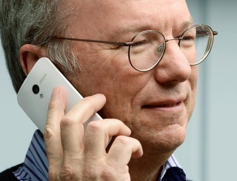 Eric Schmidt ha già il suo Motorola Moto X?