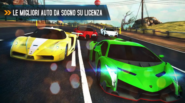 Asphalt 8 Airborne disponibile sul Play Store [DOWNLOAD]