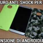 Cover Puro Anti-Shock per HTC One - La recensione di Androidiani.com