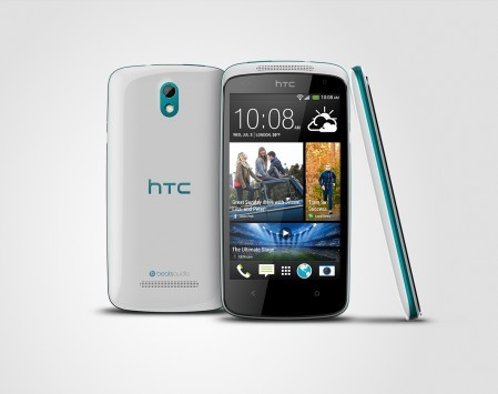 HTC Desire 500: nuovo hands-on e confronto con One