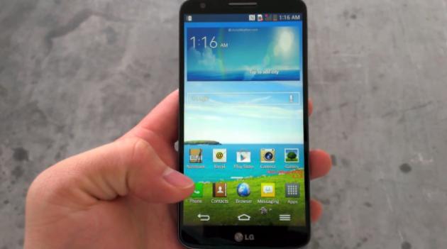 LG G2: per ora non verrà rilasciata alcuna