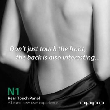 Oppo N1: ecco un'intrigante immagine pubblicitaria che annuncia il nuovo camera-phone
