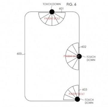 Samsung: brevettato un nuovo sistema di controllo touch simile all'interfaccia PIE della Paranoid