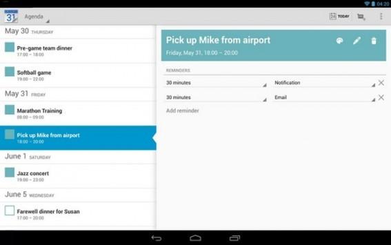 Google Calendar finalmente sincronizza le notifiche fra più dispositivi