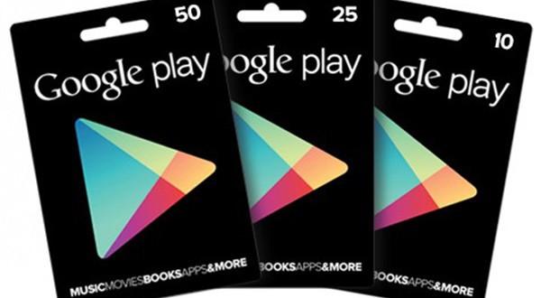 Google Gift Card: in arrivo le card con importo variabile