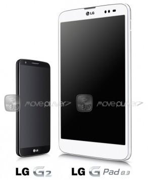 LG G Pad 8.3: questo il primo render