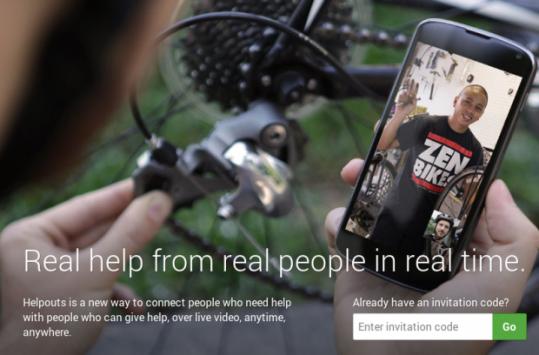 Google Helpouts: un nuovo servizio di video chat in cui ricevere assistenza