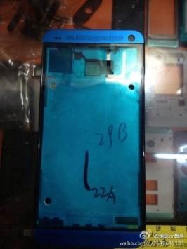 HTC One: ecco la prima immagine reale della scocca in Blu
