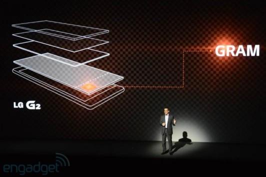 LG G2: ecco come la Graphic RAM aumenta del 10% la durata della batteria