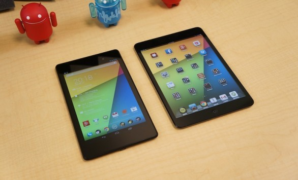 Nexus 7 2013 vs Apple iPad Mini: ecco un video confronto