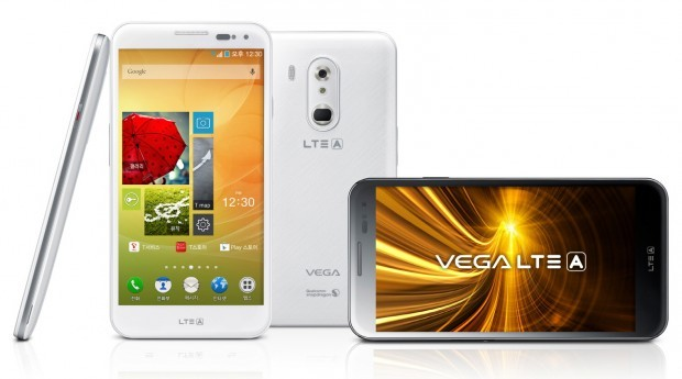 Pantech Vega LTE-A ufficiale: tasti sul retro e lettore d'impronte digitali