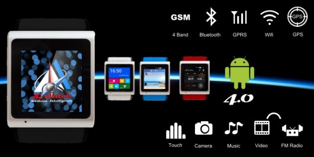 A.I watch, lo smartwatch indipendente, sbarca su IndieGoGo