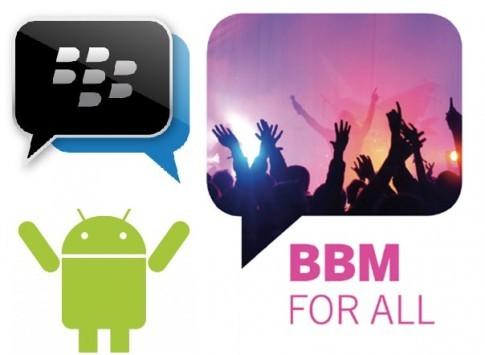 BlackBerry Messenger per Android non arriverà nemmeno questa settimana