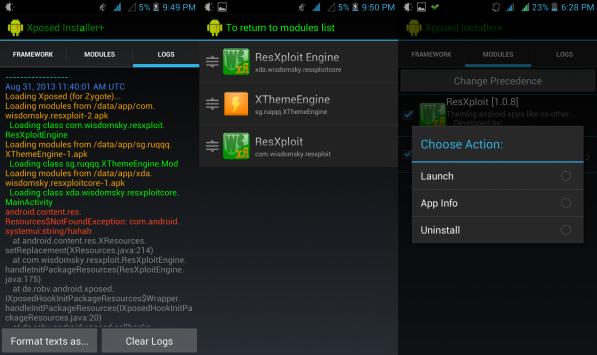 Xposed Installer Plus, versione custom del celebre installer con nuove funzionalità