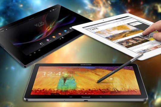 Samsung Galaxy Note 10.1 (2014) vs iPad 4 vs Sony Xperia Tablet Z: ecco una tabella comparativa