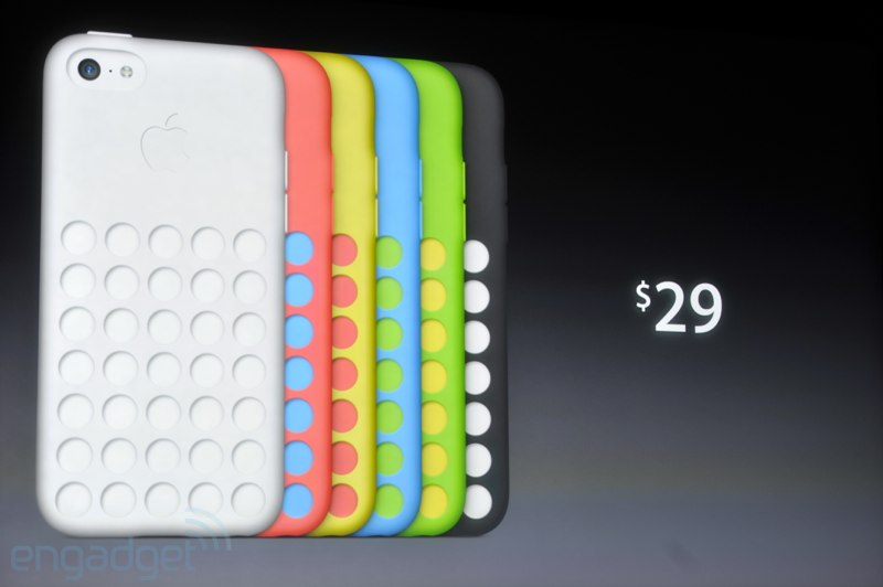 Cover ufficiali Apple per iPhone 5C