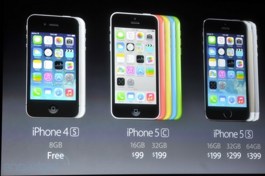 Apple presenta ufficialmente iPhone 5C e iPhone 5S