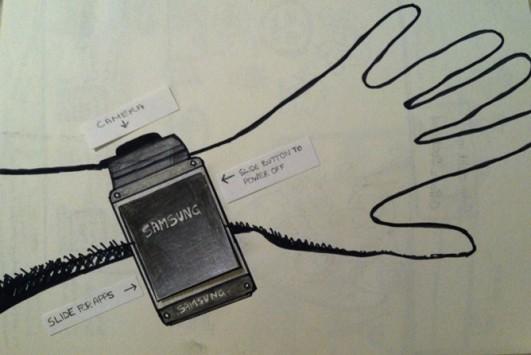 Samsung Galaxy Gear: ecco le prime immagini leaked