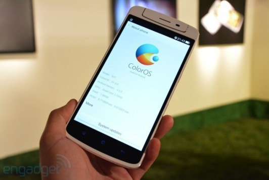 L'Oppo N1 si mostra in un hands on video