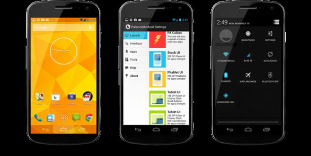 Il team Paranoid Android riscriverà completamente la propria Custom ROM