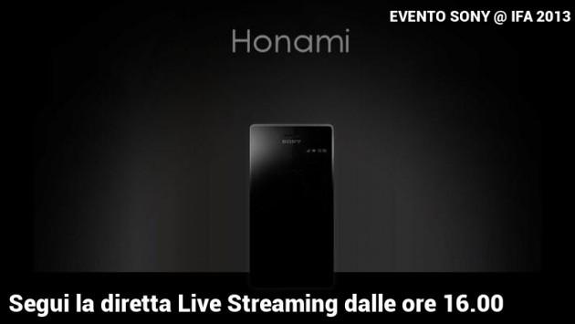 Presentazione Sony Xperia Z1 Honami - Segui la diretta streaming su Androidiani.com