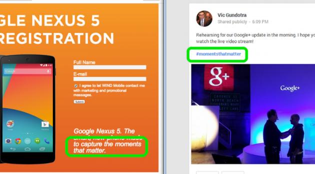 Vic Gundotra potrebbe aver confermato la presentazione del Nexus 5 di oggi