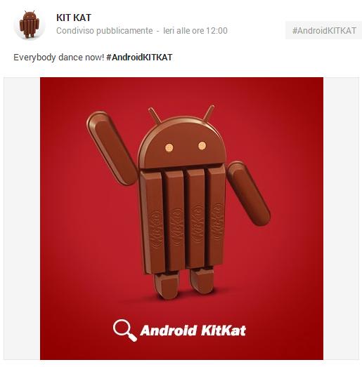2013-10-16 10_48_31-KIT KAT - Google+ - Everybody dance now! #AndroidKITKAT