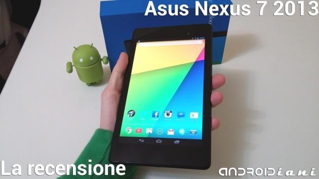 Nexus 7 2013: la recensione di Androidiani.com