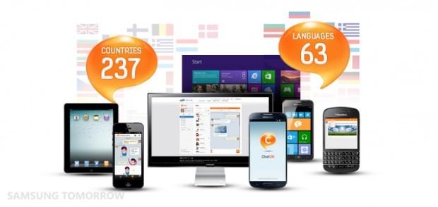 Samsung ChatON raggiunge 100 milioni d'utenti