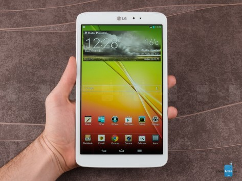 LG G Pad 8.3: Android 4.4.2 in arrivo entro l'estate