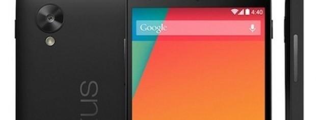 LG Nexus 5: ancora conferme per l'arrivo sul Play Store dal 1 Novembre