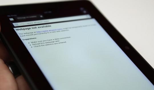 Amazon Kindle Fire HDX: il display ha sfumature bluastre ai bordi secondo alcuni utenti