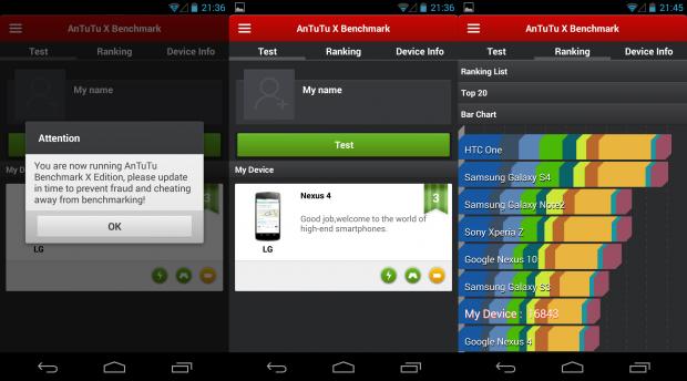 AnTuTu Labs rilascia Benchmark X Editor sul Google Play Store