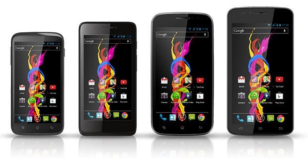 Archos presenta quattro nuovi smartphone dual-sim low-range, con prezzi fra i 100 e i 200 euro