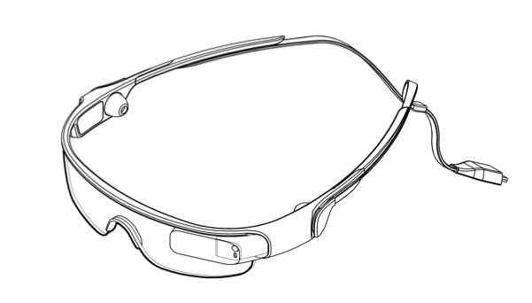Samsung: un brevetto mostra un device simile ai Google Glass