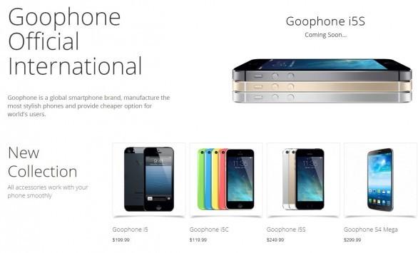 GooPhone apre il proprio store internazionale: cloni in arrivo anche sul nostro mercato?