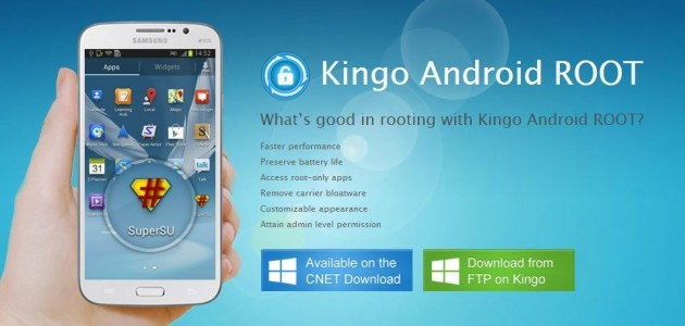 Kingo: ecco un nuovo tool per eseguire il root di molti smartphone Android