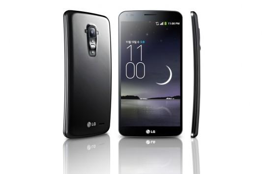 LG G Flex ufficiale in Corea. Il retro è