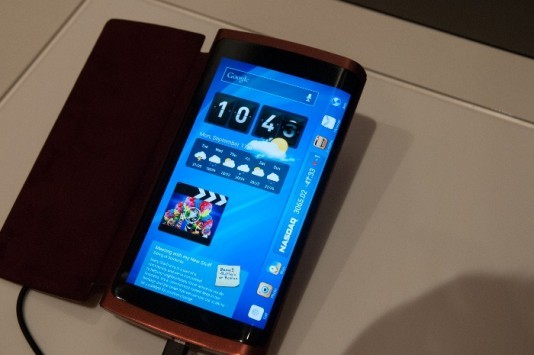 Samsung: smartphone con display