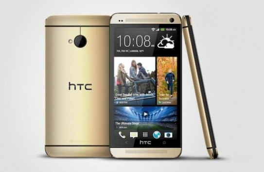 HTC One, la versione Gold già disponibile in Germania