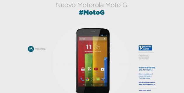 Motorola Moto G: in arrivo una nuova versione con batteria migliorata