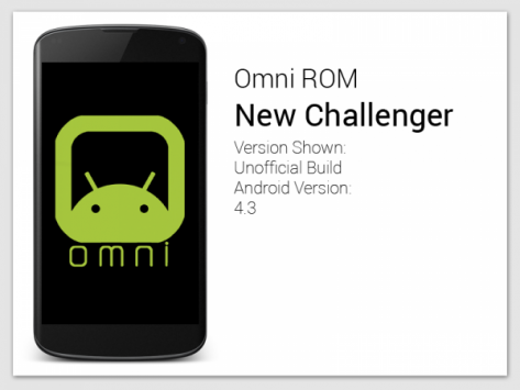 Omni ROM con Android 4.4 KitKat: in arrivo le prime nightly