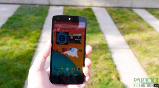 Google Nexus 5: drop test