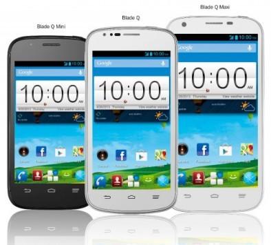 ZTE Blade Q: ecco nuovi smartphone Android per tutte le fasce di prezzo