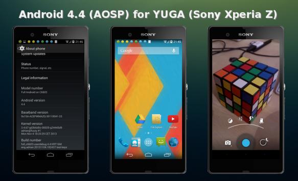 Android 4.4 Kitkat: ecco una prima ROM per Xperia Z