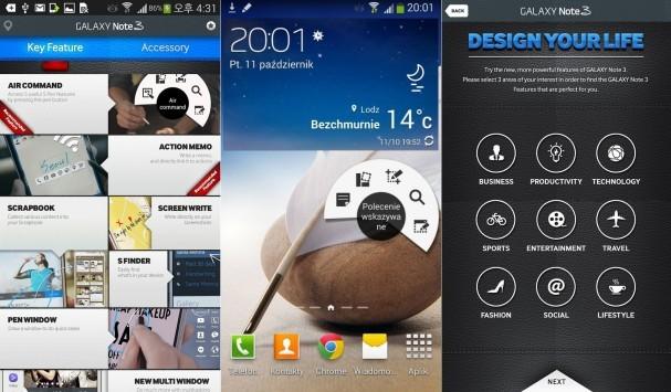 Galaxy Note 3 Experience: ecco l'app per provare le funzioni del Note III su tutti i device Android