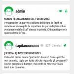 Vista sezione Google Nexus 5
