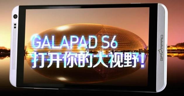 GalaPad S6: ecco un clone cinese dell'HTC One Max