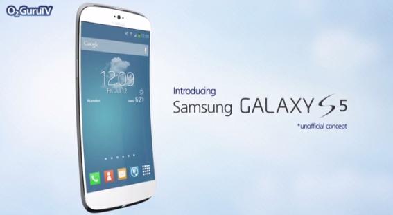 Galaxy S5: un concept amatoriale mostra un device ricurvo con hardware mostruoso